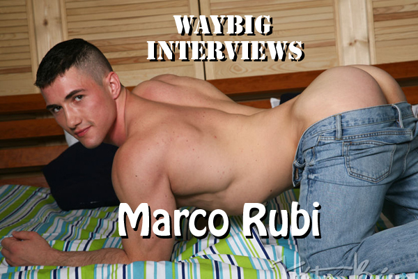 WB Interviews Porn Star Marco Rubi