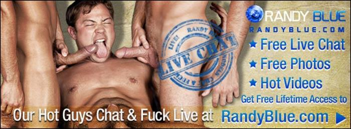 Randy Blue Post Banner 2