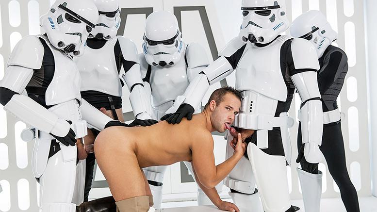 Gay star wars porn