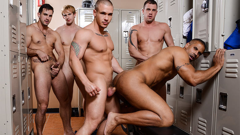 Boy team gay gangbang dominic works their 2