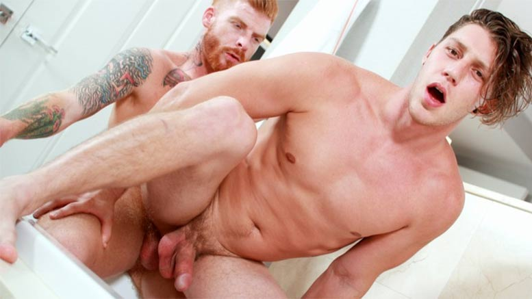image Showerbait straight bait shower fuck with casey everett and jack hunter