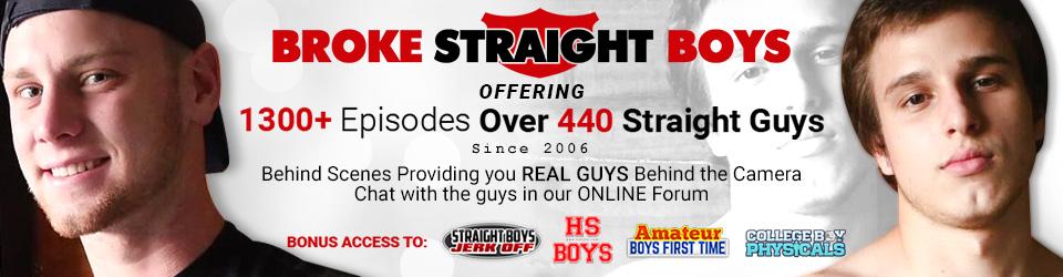 Broke Straight Boys Superwide Banner #2