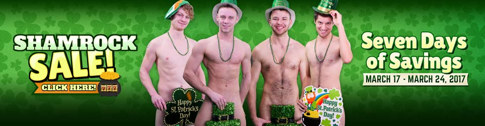 BSB St Patrick's Day Superwide Banner