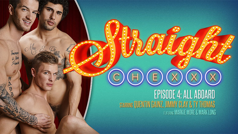 Jimmy Clay, Quentin Gainz & Ty Thomas in 'Straight Chexxx: All Aboard!' Episode 4 at Next Door Studios