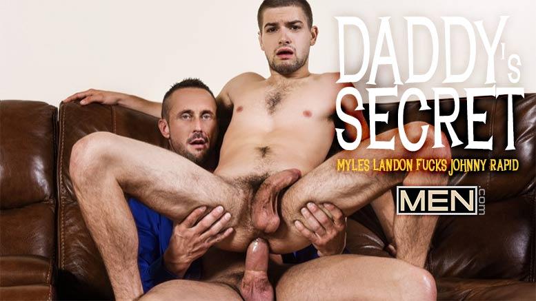 Myles Landon Fucks Johnny Rapid in 'Daddy's Secret' Part 1 at Men.com