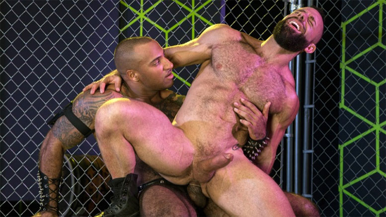 Daymin Voss and Eddy Ceetee Flip-Fuck in 'GAYMERS' Scene 2 at Raging Stallion