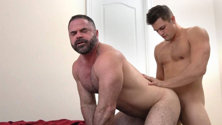 Amateur dads in white briefs and gay twink 10