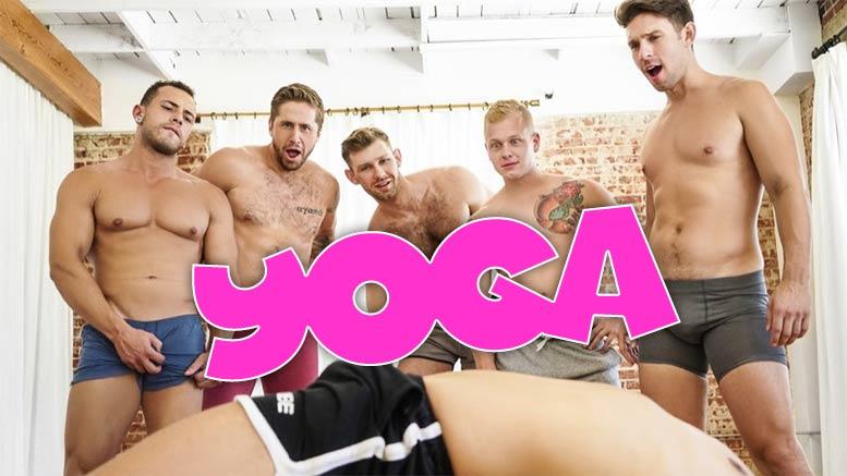 Gay porn yoga