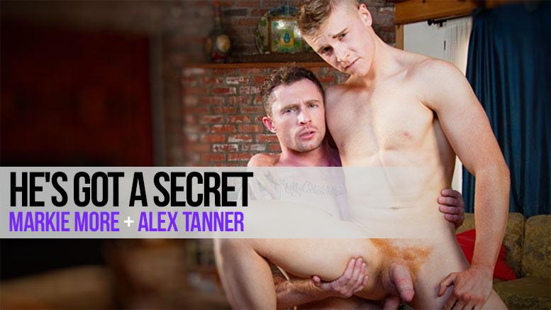 "NextDoorRAW!: Markie More Fucks Alex Tanner in ""He's Got A Secret"""