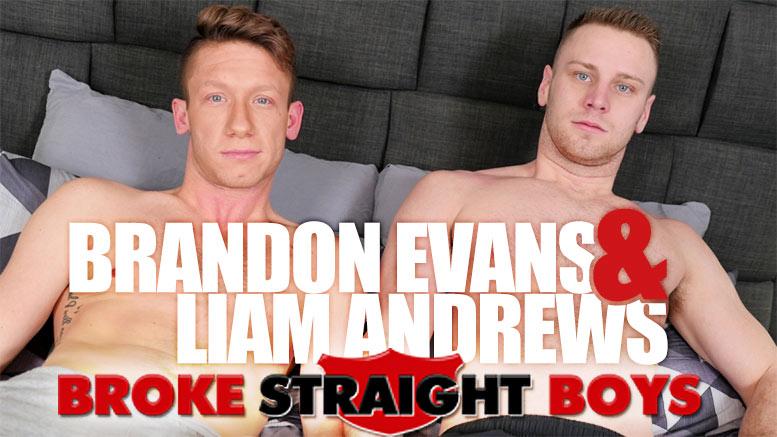 Broke Straight Boys: Brandon Evans Fucks Liam Andrews (Bareback)