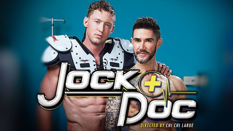 Hot House: Jock Doc, Scene 3 (Pierce Paris Fucks Dean Monroe)