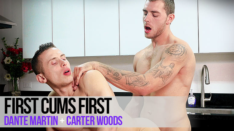 NextDoorRAW!: Carter Woods Fucks Dante Martin in 'First Cums First'