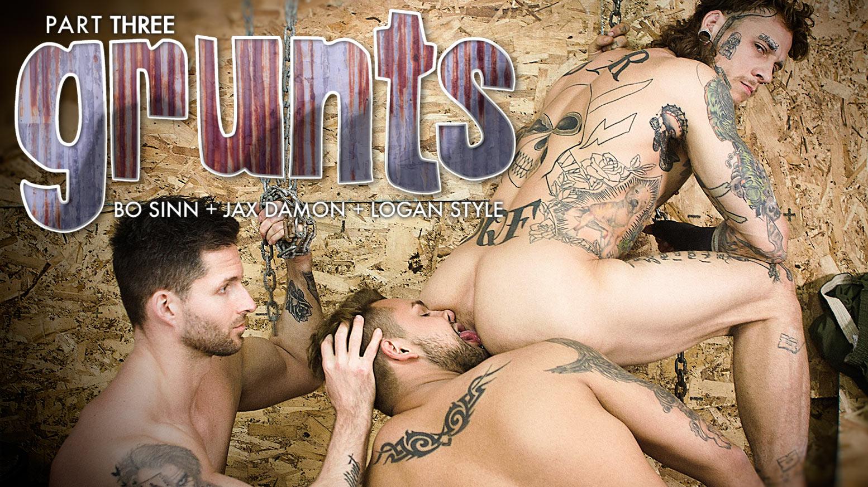 Sinn and jizz on butt   Porn photo)
