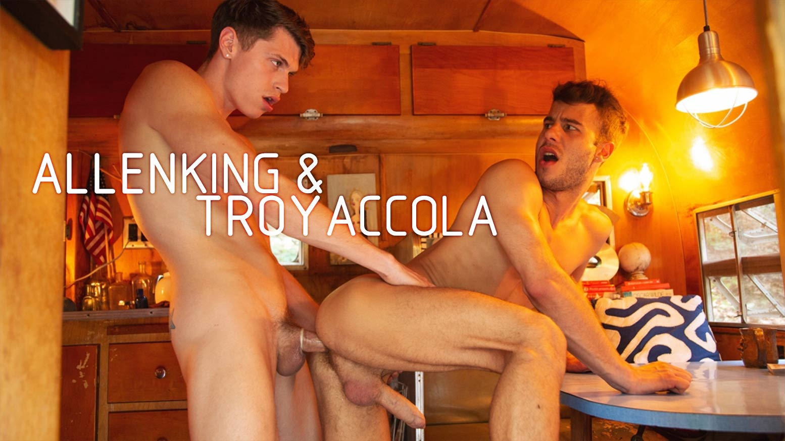 Allen King Porno Gay it's summer at cockyboys: allen king and troy accola flip