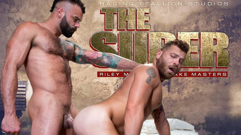 Raging Stallion: Riley Mitchell and Drake Masters Flip-Fuck in 'The Super, Scene 2'