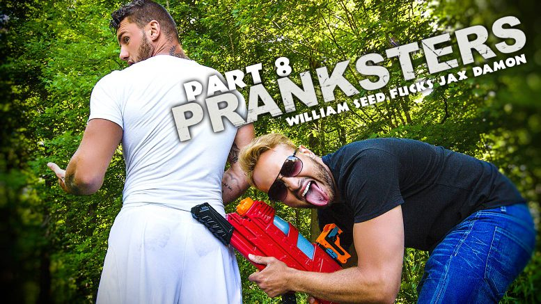 MEN Series: William Seed Fucks Jax Damon in 'PRANKSTERS, Part 8'