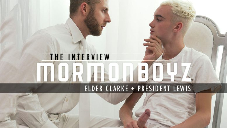 Missionary Boys: THE INTERVIEW: Elder Clarke (with President Lewis)