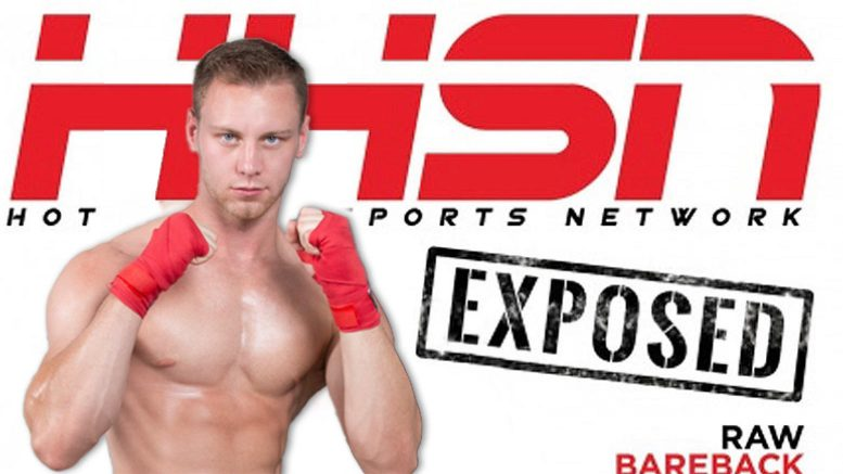 HotHouse: Brandon Evans and Justin Matthews Flip-Fuck in 'Hot House Sports Network: Exposed, Scene 4'