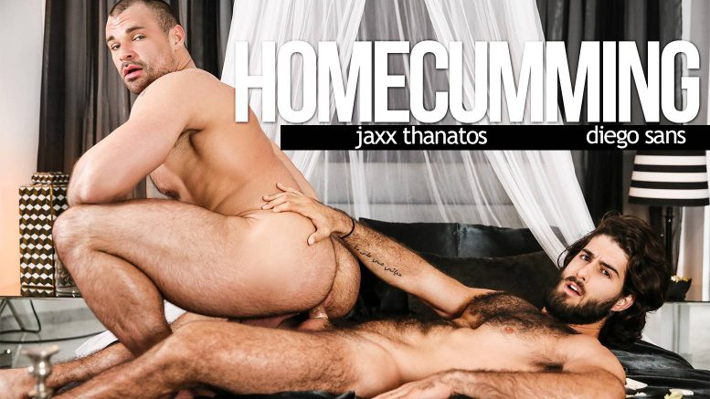 MEN: Diego Sans Fucks Jaxx Thanatos in 'HomeCumming'