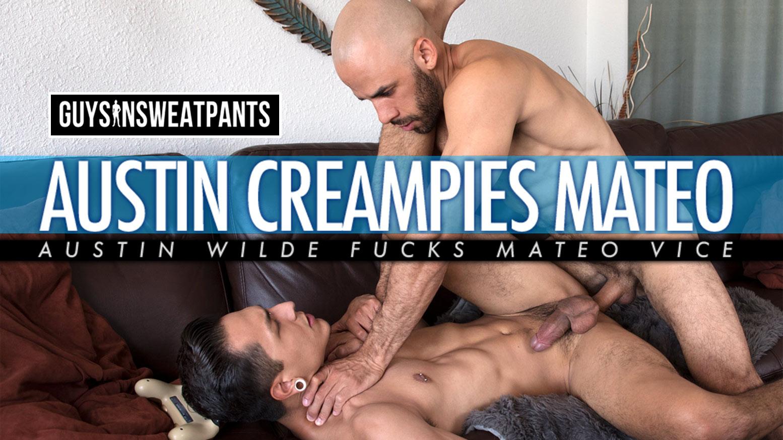 Austin Wilde Porno Gay guys in sweatpants: austin wilde creampies mateo vice - waybig
