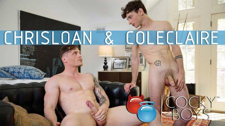 CockyBoys: Chris Loan Fucks Cole Claire RAW