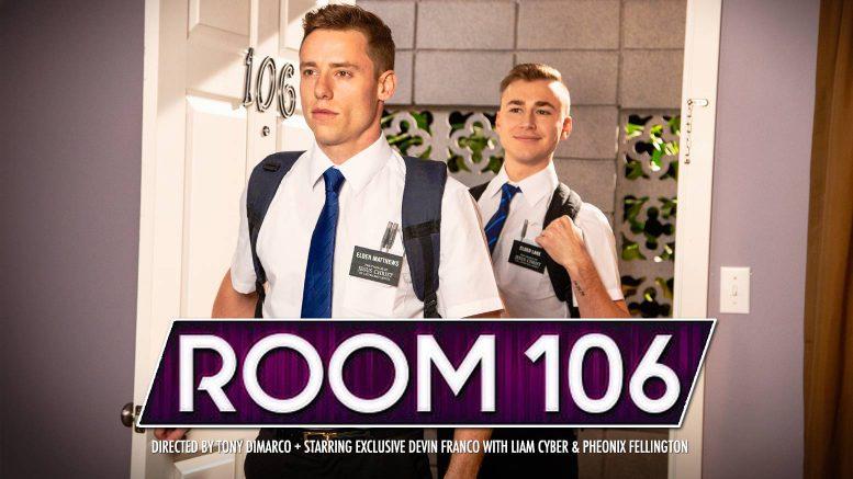 Falcon Studios: Justin Matthews Fucks Zander Lane in 'Room 106, Scene 4'