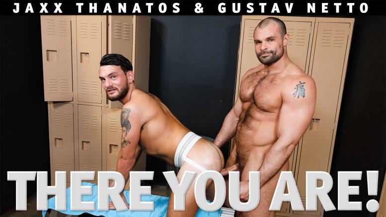 Pride Studios: Jaxx Thanatos Fucks Gustav Netto in 'There You Are!'