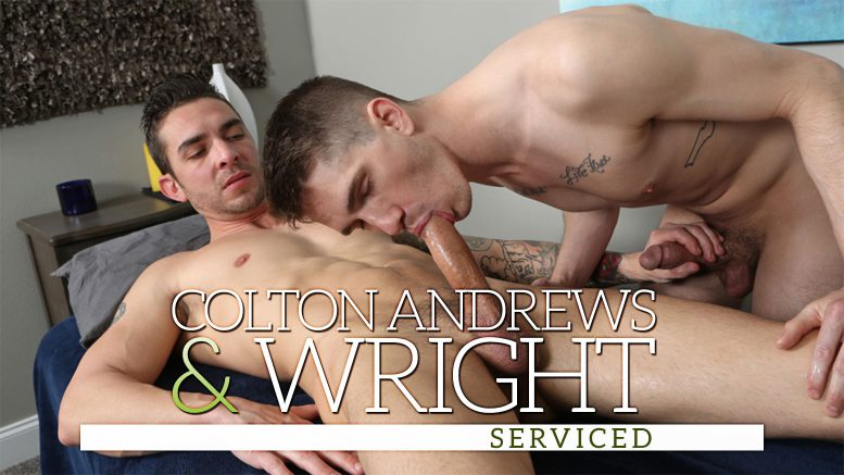 ChaosMen: Colton Andrews & Wright 'Serviced'
